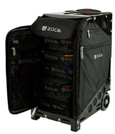 Zuca Pro Travel Bag Easily Becomes a Chair When You're Tired #design #creativity trendhunter.com