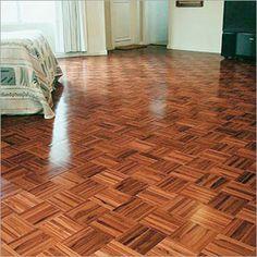 Parquet Flooring Parkay Kitchen Teak Solid Wood Living