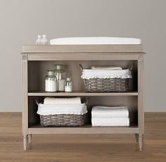 Emelia Changing Table   Changing Tables   Restoration Hardware Baby & Child - Hubby could build this...