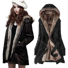TOPSELLER! Zicac Women's Thicken Fleece Faux Fur... $15.00