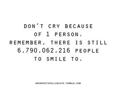Some people MAKE me remember this quote:)  Sad for them tjat they're that kind of person:)