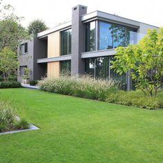 Purple Garden, Love Garden, Front Garden Landscape, Garden Landscaping, Modern Garden Design, Landscape Design, Casa San Sebastian, Dorset House, Garden Architecture
