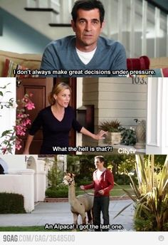 Modern Family ~ phil & claire  <3