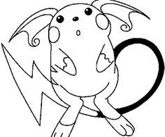 POKÉMON SALAMÈCHE : Coloriage Pokémon salamèche en Ligne Gratuit a imprimer sur…