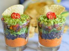 Healthy Super Bowl Party Recipes | 7-Layer Sweet Potato Bean Dip | Vegan, Dairy-Free Dip Recipes | Luci's Morsels :: LA Healthy Food Blog