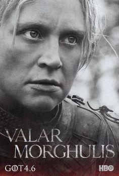 Brienne of Tarth, Season Four Poster