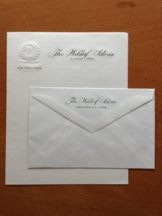 True Vintage Unused Waldorf Astoria a Hilton Hotel New York notecards w/ envelopes engraved. an inspiration for stationery I would like to have made. Waldorf Astoria, Personalized Stationery, Letterhead, Print Design, Graphic Design, Letterpress, Note Cards, Cool Designs, Letters