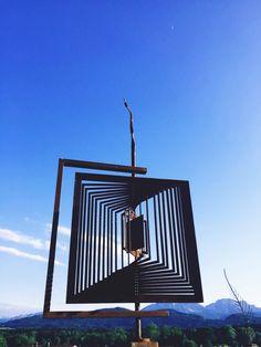 Kinetic Wind Art, Garden Art, Sculpture Art, Ceiling Lights, Inspiration, Lighting, Home Decor, Corten Steel, Recovery