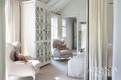 Beautiful bedroom via Paris Style Antiques on Facebook