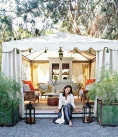 8 Bliss Tips AND Tricks: Canopy Tent Beach backyard canopy gazebo. Outdoor Rooms, Outdoor Living, Outdoor Decor, Tent Living, Living Room, Vignette Design, Gazebos, Garden Canopy, Backyard Canopy