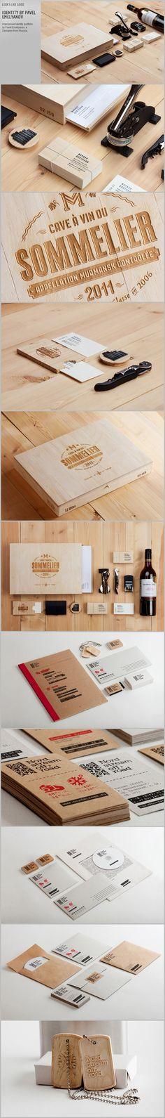 Impressive Identity portfolio by Pavel Emelyanov, a Designer from Russia. | http://lookslikegooddesign.com/graphic-pavel-emelyanov/