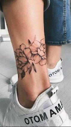 Anklet Tattoos, Bff Tattoos, Little Tattoos, Foot Tattoos, Mini Tattoos, Cute Tattoos, Tattoos For Guys, Tattoo Bracelet, Tattoo Back Women
