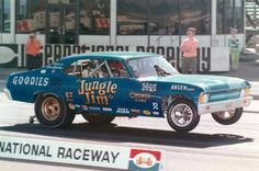 When Funny Cars looked like the cars they were based on! :)