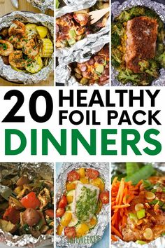 Dive into these healthy foil pack dinners. Foil pack recipes are naturally healthy as well as being packed full of protein. Healthy Recipes For Weight Loss, Healthy Meal Prep, Healthy Nutrition, Clean Eating Recipes, Healthy Dinner Recipes, Healthy Eating, Healthy Dinners, Healthy Weight, Frugal Meals
