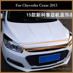 59.33$  Watch now - http://alisj0.worldwells.pw/go.php?t=32775169378 - For Chevrolet Cruze 2015 Stainless Steel Front Bumper Down Cover Trim Protector Car styling accessories
