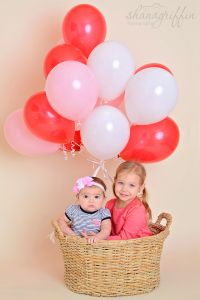 Yesterday I had a 6 month photo shoot and we added a few Valentines Day photos with her big sister at the end. They were so cute! Valentines Day Photos, Balloons, Air Balloon, Mini Sessions, Doll Clothes, Dolls, Cute, Photography, Passion