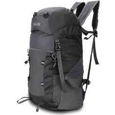 Kalusi Large 35l Lightweight Waterproof Hiking Daypack ,Foldable Outdoor Backpack *** You will love this! More info here : backpacking packs