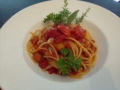 Verboten gut ⚠: Dinkel ~ Spaghetti all`arrabiata