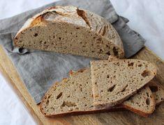 Weizenmischbrot mit Sauerteig ohne Germ Bbq, Low Carb, Bread, Recipes, Food, Orange, Videos, Creative, Recipe