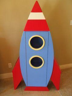 Resultado de imagen para rocket ship bookshelf