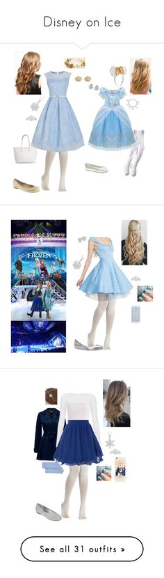 """Disney on Ice"" by briony-jae ❤ liked on Polyvore featuring disney, frozen, disneyonice, MagicalIceFestival, Disney, Banana Republic, Jefferies Socks, Juicy Couture, Talbots and C by Bloomingdale's"