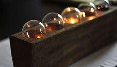 DIY Upcycled Lightbulb Centerpiece