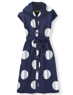 Seatown Shirt Dress WH780 Day Dresses at Boden