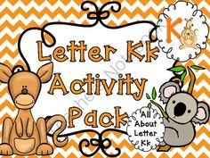 Letter Kk Activities Pack (CCSS) from Sparkling in Kindergarten on TeachersNotebook.com -  (35 pages)  - EVERYTHING  you need to teach the letter k including...printables, song, free video clickable resources, centers, craftivities, play dough mats, spin and graph, intereactive mini books....plus much more!