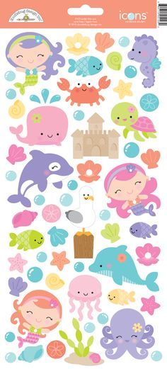 DB Under the Sea Icons Cardstock Stickers 5143 X 2