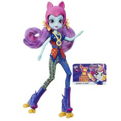 My Little Pony Equestria Girls Shadowbolts Sunny Flare Sporty Style Roller Skater Doll