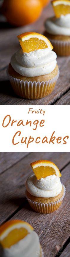 Vegan Orange Lemon Cupcakes