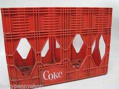 Coca Cola 2 Liter Plastic Carry Crate http://www.luckypennyshop.com/collecting.htm