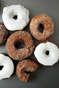 Gingerbread+Donuts...not exactly healthy but ooo-oohh SO good!! ;)