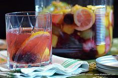 Vodka Infused Gypsy Fruit Drink