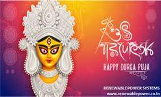 #Renewablepowersystemsdelhi wishes #HappyDurgaPuja