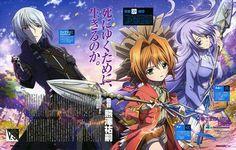 Tags: Anime, Scan, Pixiv, Official Art, Kami-sama no Inai Nichiyoubi