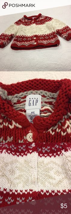 Baby Gap size 2xl sweater Baby Gap size 2xl sweater baby gap Other