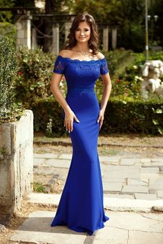 Geneve Royal Blue Dress ZONIA One-Day Delivery WorldWide International shipping within two working days Lots of elegant evening dresses online sale African Bridesmaid Dresses, African Lace Dresses, Blue Dresses, Formal Dresses, Prom Party Dresses, Evening Dresses, Lace Dress Styles, Blue Silk Dress, Trendy Ankara Styles