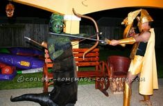Coolest Medusa and Zeus Homemade Halloween Costumes Inspired by The Immortals