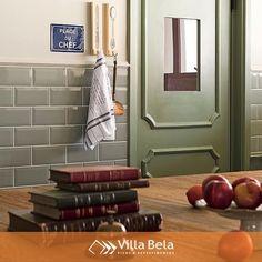 Conferindo um ar retrô à cozinha, o subway tile Oasis foi a aposta, deixando o ambiente aconchegante e sofisticado 😍  #villabelarevestimentos #arquitetura #architecture #interior #arquiteto #architect #archilovers #decorador #decor #decoração #design #designinteriores #inspiração