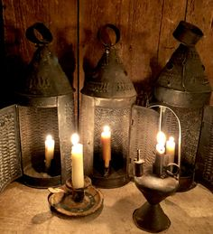 Sales of American country antiques, primitives, folk art, Americana of the and Centuries Primitive Lighting, Antique Lighting, Primitive Antiques, Candle Lanterns, Candle Holders, Candle Stands, Vintage Decor, Lamp Light, Candlesticks