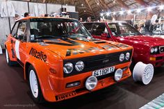 #Fiat #131 #Abarth à l'Avignon Motor Festival. Reportage complet : http://newsdanciennes.com/2016/03/28/grand-format-avignon-motor-festival-2016/ #Voiture #Ancienne #ClassicCar #VintageCar