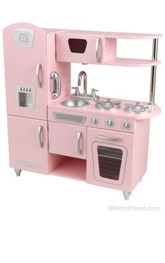 Pretty Pink Kitchen Playset  RetroPlanet.com