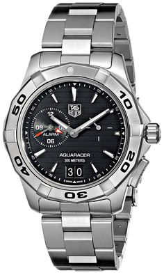 TAG Heuer Men's WAP111Z.BA0831 Aquaracer Black Dial Watch >>> Continue to the product at the image link. (This is an Amazon Affiliate link and I receive a commission for the sales)