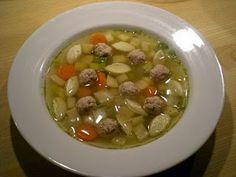 suppe med kod og melboller