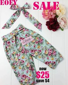 Harem pants with ponytail headwrap only 25 down from 29. Grab email quick for your little ones....these ones have Itty bitty sizes from 0000 up to 0   #harempant #floral #girlspants #girlsoutfit #winter #harems #haremshorts #harempantsph #vintage #kidzfashion #kidswithstyle #goldcoast #trendykiddies #trendy_tots #totsandtrends #kids #kidsfashion #totsontheblock