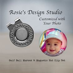 """★★★★★ """"I ordered a personalized golf marker and hat clip. The packaging is beautiful and elegant perfect for a gift! The shop owner/creator is attentive and has very quick response time! The product it's self is well-made."""" Amanda R. Trending Christmas Gifts, Christmas Gift For Dad, Unique Christmas Gifts, Gifts For Teens, Gifts For Dad, Gifts For Friends, Gifts For Women, Gifts For Golfers, Golf Gifts"""