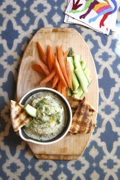 White Bean Dip with Fresh Herbs | Eat • Drink • Garden • Santa Barbara, California