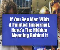 If You See Men With A Painted Fingernail, Here's The Hidden Meaning Behind It Son Quotes, I Love You Quotes, Love Yourself Quotes, Couple Quotes, Today Pictures, Night Pictures, Morning Pictures, Happy Pictures, Heart Pictures