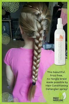 Love the Conditioning Hair Detangler from Max & Madeleine!   www.shop.maxandmadeleine.com/simplywmpowered
